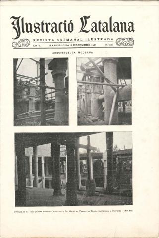 Journal Ilustració Catalana, 8 December 1907