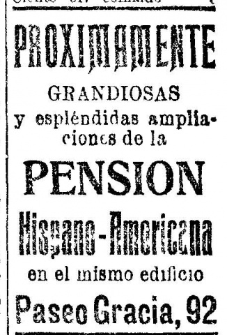 La Vanguardia, 19 de abril de 1916