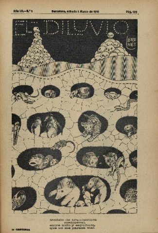 El Diluvio. Suplemento Ilustrado. 5 de marzo de 1910