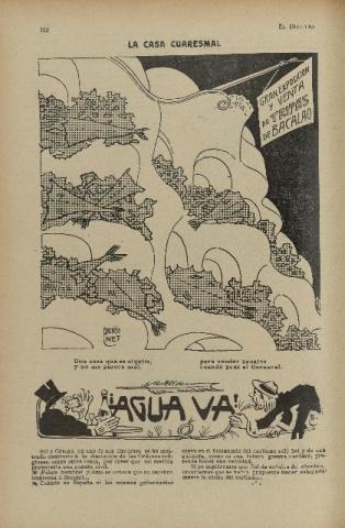 El Diluvio. Suplemento Ilustrado . 25 February 1911
