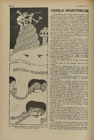 El Diluvio. Suplemento Ilustrado. 25 de febrer de 1911