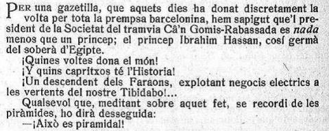 L'Esquella de la Torratxa, 6 d'octubre de 1911