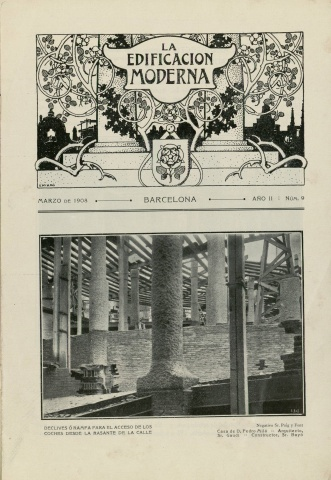 La Edificación Moderna, March 1908