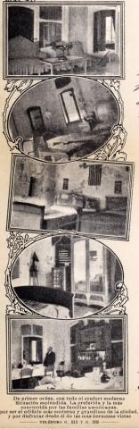 Detail of the letter paper of the 'Pensión de Familia de G. Campaña'.